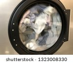 detail on industrial washing... | Shutterstock . vector #1323008330