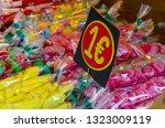 assorted candies in the...   Shutterstock . vector #1323009119