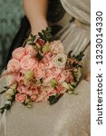 beautiful bridal bouquet and...   Shutterstock . vector #1323014330