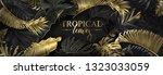 vector horizontal banner with... | Shutterstock .eps vector #1323033059