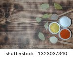 everyday flavorings for a... | Shutterstock . vector #1323037340