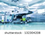 operating room with modern... | Shutterstock . vector #132304208