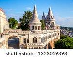 fishermen's bastion in budapest ...   Shutterstock . vector #1323059393