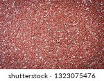 Small Red And White Stones Used ...