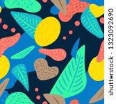 liquid geometric background...   Shutterstock .eps vector #1323092690