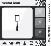 selfie monopod stick flat set... | Shutterstock .eps vector #1323111026