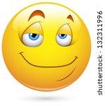 smiley vector illustration  ... | Shutterstock .eps vector #132311996