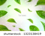 3d realistic isolated tea... | Shutterstock .eps vector #1323138419