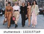 milan  italy   february 20 ...   Shutterstock . vector #1323157169