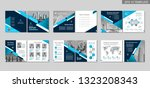 brochure creative design.... | Shutterstock .eps vector #1323208343