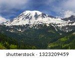 view to mount rainier ...   Shutterstock . vector #1323209459
