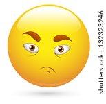 smiley vector illustration  ... | Shutterstock .eps vector #132323246
