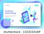 landing page customer online...