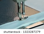 sewing machine close up  ... | Shutterstock . vector #1323287279