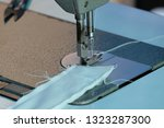 sewing machine close up  ... | Shutterstock . vector #1323287300