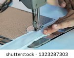 sewing machine close up  ... | Shutterstock . vector #1323287303