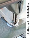 sewing machine close up  ... | Shutterstock . vector #1323287336