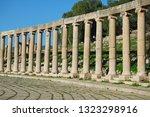 ancient city of gerasa  jerash. ... | Shutterstock . vector #1323298916