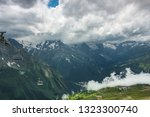 view on cableway in the... | Shutterstock . vector #1323300740