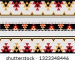 bedouin arabian hand weaving... | Shutterstock .eps vector #1323348446