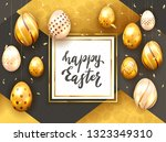 card with lettering happy... | Shutterstock . vector #1323349310