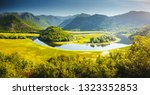the magical valley of the... | Shutterstock . vector #1323352853