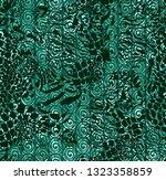 seamless vector pattern. safari ... | Shutterstock .eps vector #1323358859