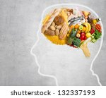 food for thought | Shutterstock . vector #132337193