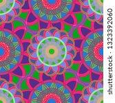 flower amazing multicolor... | Shutterstock . vector #1323392060