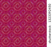 abstract background circle grid ... | Shutterstock . vector #1323392450