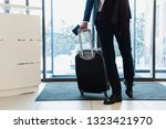 cropped view of businessman... | Shutterstock . vector #1323421970