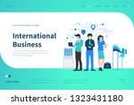 web page design templates for... | Shutterstock .eps vector #1323431180