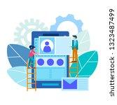 mobile application design...