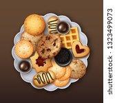 vector illustration of... | Shutterstock .eps vector #1323499073