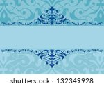 vintage background traditional... | Shutterstock .eps vector #132349928