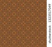 vintage floral seamless pattern ... | Shutterstock .eps vector #1323517049