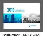 cover design for annual report...   Shutterstock .eps vector #1323519866