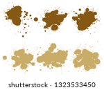 vector collection of artistic... | Shutterstock .eps vector #1323533450