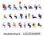 creative various people...   Shutterstock .eps vector #1323534899