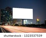 blank template  for outdoor... | Shutterstock . vector #1323537539