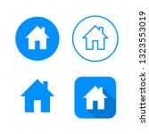 home icon  four variants ...