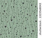 cute seamless pattern with... | Shutterstock .eps vector #1323568043