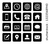 web icons set. web design icon. ... | Shutterstock .eps vector #1323568940