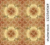 traditional arabic decor on...   Shutterstock .eps vector #1323569369