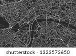 black and white vector modern... | Shutterstock .eps vector #1323573650