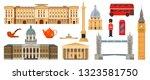 culture  landmarks  attractions ... | Shutterstock .eps vector #1323581750