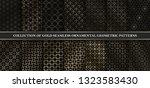 collection of art deco vector...   Shutterstock .eps vector #1323583430