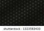 vector geometric art deco... | Shutterstock .eps vector #1323583433