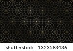 vector geometric art deco... | Shutterstock .eps vector #1323583436