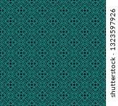 vintage seamless pattern design ... | Shutterstock .eps vector #1323597926